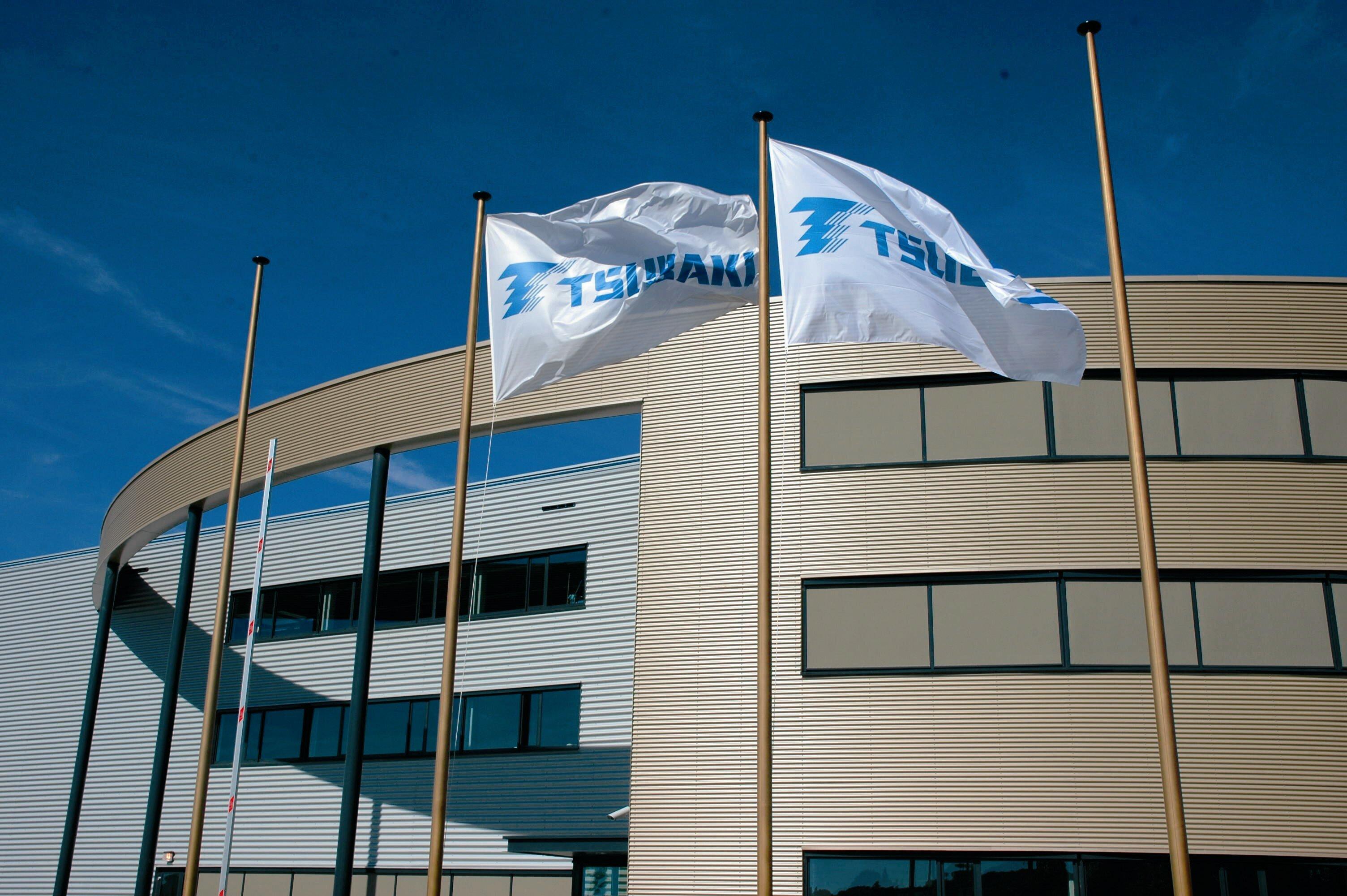 Tsubaki Flags Dordrecht